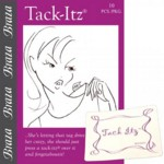 Clothing Tags Secured With 'Tack-Itz'