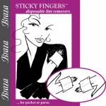 Remove Lint & Hair With 'Sticky Fingers' 5Pc Pack 20 Uses.