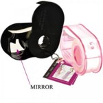 Body Tape Mini In Pink Dispenser