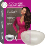 Add A Full Cup Size To Your Bra/Breast With Clear Silicone Pads.