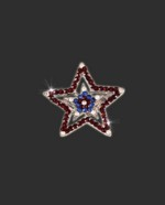 Bra Strap Bling Double Star