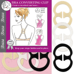 Bra Back Converting Clip