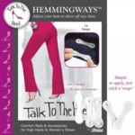 No Sew Hem Adjust With Hemmingways