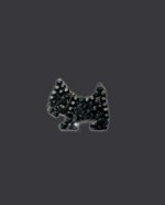 Bra Strap Bling Scottie Dog